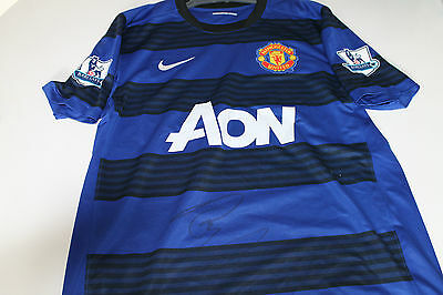 Man United - Robin Van Persie Hand Signed Jersey Unframed + Photo Proof & C.o.a