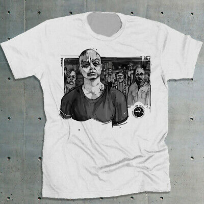 52b81948d ALPHA AND THE Whisperers The Walking Dead T-shirt TWD Graphic Tee ...