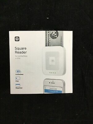 Contactless Square Reader Chip Mag Stripe NIB Never Used