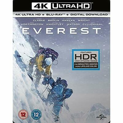 Everest (4K UHD Blu-ray + Blu-ray + Digital Download) [2015] Blu-ray