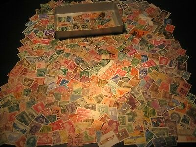 Stamps Collection Untouched For Years Kiloware Worldwide Stamps Old Lot 2