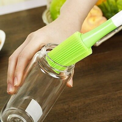 Tools Silicone Long Handle Home Cleaning Brush Bottle Brush Cleaner Kitchen