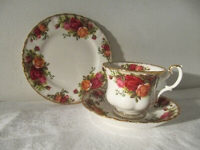 Royal Albert Old Country Roses Bone China Tea Trio Cup & Saucer