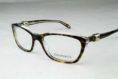8cca49e6dc36 TIFFANY   CO. TF 2074 Eyeglasses Havana Clear 8155 Authentic 52mm ...