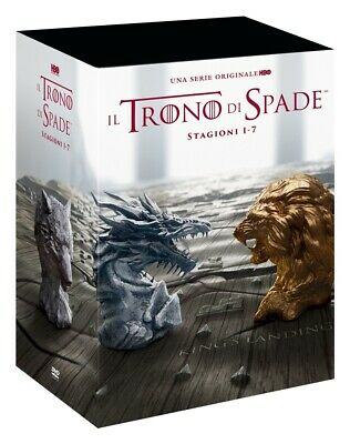 1066216 Trono Di Spade (Il) - Stagioni 01-07 Stand Pack (34 Dvd) - Game Of Thron
