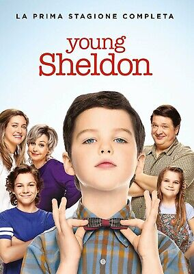 2605168 Young Sheldon - Stagione 01 (2 Dvd) - Young Sheldon (DVD)