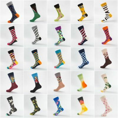Mens Casual Socks Gift Fruit Novelty Cotton Animal Wedding Sock Combed Funny SOX