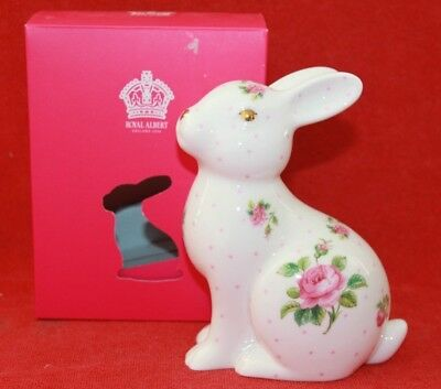 Royal Albert ~ Pink Rose Design ~ Bunny Rabbit ~ New & Boxed