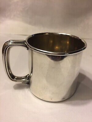Vintage Sterling Silver Baby Cup