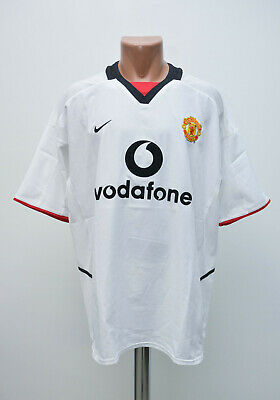 0d4716ad7 Manchester United 2002 2003 Third Football Shirt Jersey Nike Size Xl Adult