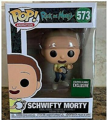 Funko Pop Rick & Morty 573 - SCHWIFTY MORTY - Barnes & Noble Exclusive - PRESALE