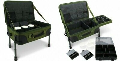 Carp Fishing Tackle Table Box System Carryall Bag Rig Station NGT - New - Fishin