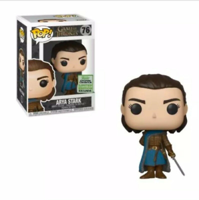 PREORDER: Funko Pop Game of Thrones 76 - ARYA STARK - ECCC 2019 Shared Exclusive