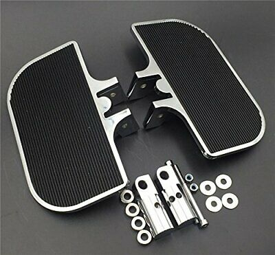 Chrome Mini Floorboards For Harley Electra Glide/Softail / Sportster 1200 883