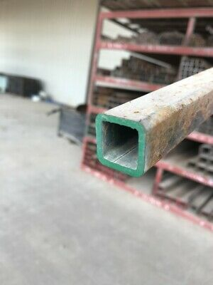 """1"""" x 1"""" x 11 Gauge Hot Rolled Steel Square Tubing x 36"""" Long Free Shipping"""