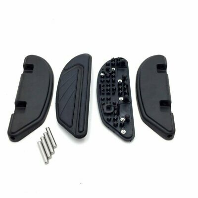 Airflow Passenger Footboard Kit For Harley Street Bob/Softail Slim/Road Glide Bl