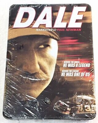 Dale - The Movie (Narrated by Paul Newman) (6 Discs, Collectible Tin) New