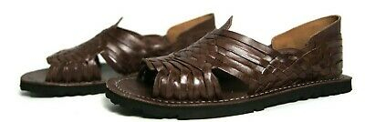 PREMIUM Men's Mexican Sandals BROWN PACHUCO Huaraches Huarache Style Chancla