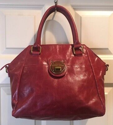 89f6b6248676 TED BAKER LONDON Coral Chevron Quilted Patent Leather Large Tote ...