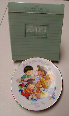 Avon Fine Collectables 1992 Porcelain How So You Wrap Love Mother's Day Mint