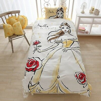 Disney Beauty and The Beast Belle Bed Cover 3-piece set SB-118 New Japan