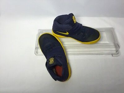 new style b9742 bba1c NIKE BASKETBALL SHOES Kyrie Irving 2 Midnight Navy Gold Playoff JBY 10C