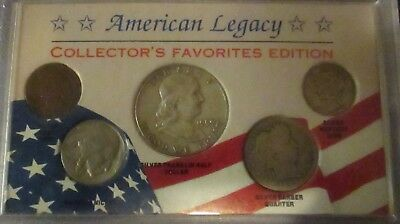 American Legacy Collecor's Favorites Edition   5 Pc Coin Set