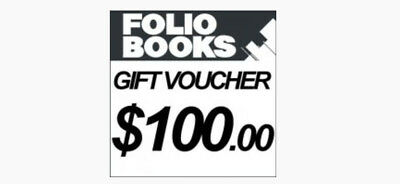 $100 Gift Card Voucher - Folio Books Brisbane - Only $50!