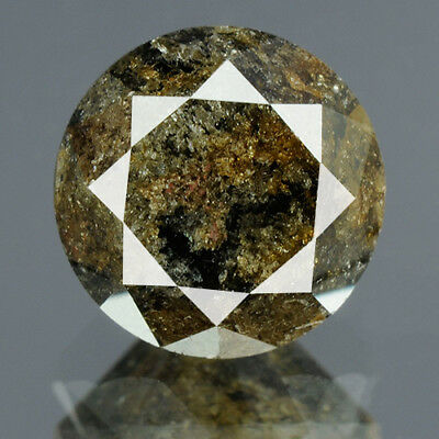 1.75 cts. CERTIFIED Round Brilliant Cut Gray Color Loose Natural Diamond 14360