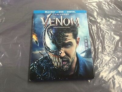 Venom     ( Blu-Ray + Dvd + Digital    ) Brand New Sealed