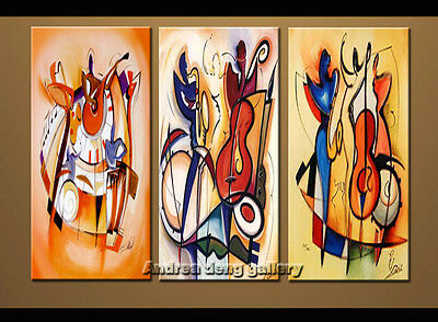 Large Modern Alfred Gockel Abstract oil painting Repro on Canvas Wall Art A1522