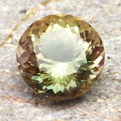 Vert Pastel Neige Oregon Sunstone 8.84ct Flawless-Directly de Pana Mine