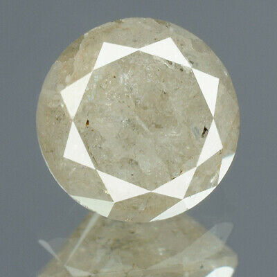 1.27 cts. CERTIFIED Round Brilliant Cut Gray Color Loose Natural Diamond 14240