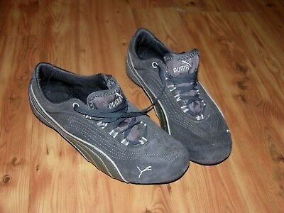 76d6d2b4f41 PUMA ECO ORTHOLITE Sport Lifestyle GRAY SUEDE Running Shoes Womens SZ 5 1 2
