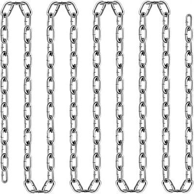 """Zinc Plated Chain G30 3/16"""" 250FT Proof Coil Towing Pulling Chain"""