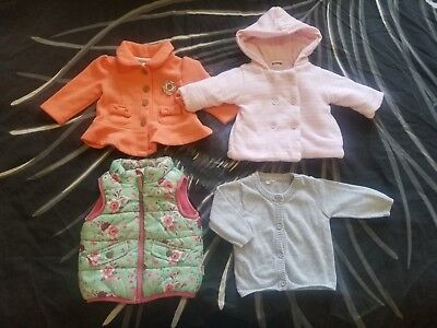 Baby Girls Clothes Size 000 Jumpers Coats Bulk