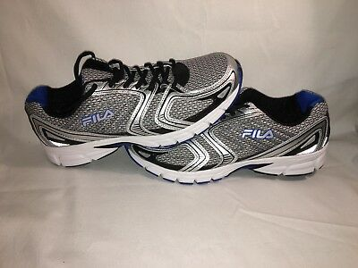 1a641fafa082 FILA THUNDERFIRE 2 Mens Size 10 Running Shoe Gray Blue Color