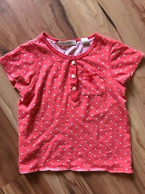 Country Road toddler 12-18 mo t-shirt Red with spots