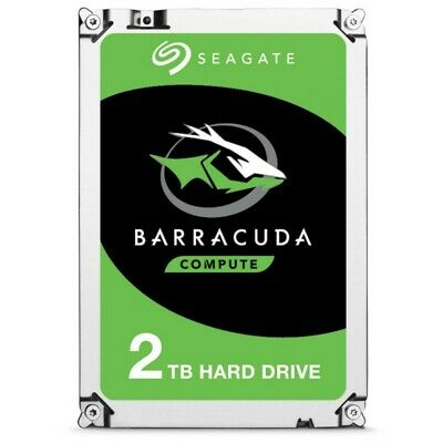 "Seagate BarraCuda 2TB  Internal 3.5"" SATA Desktop Hard Drive 7200rpm 256MB Cache"