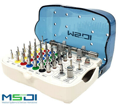 Dental Implant Surgical kit - Drill stopper kit - 35 Drills with Stoppers MSDI