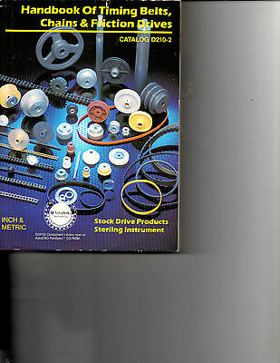 1995 Handbook Of Timing Belts-Chains-Friction Drives-Catalog D210-2- Inch-Metric