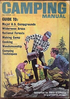 Vintage Camping Manual 1967 By Fred Sturges