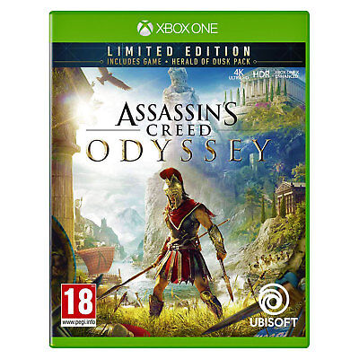 Assassins Creed Odyssey (Limited) Xbox One | New & Sealed | + Fast & Free Post !