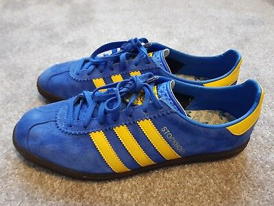 2034c5daab36bd Adidas Originals Stockholm trainers UK size 9 used great condition 2014