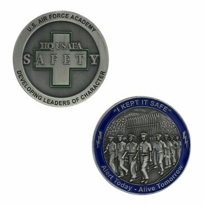 Us Air Force Academy Hq Usafa Developing Leaders Of Character Challenge Coin