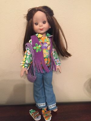 Tonner Rare Betsy McCall Brown Hair-Hippie Outfit Complete