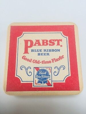 New, Old Stock Vintage Antique Pabst Blue Ribbon Coasters! Antique LOT of 12 PBR