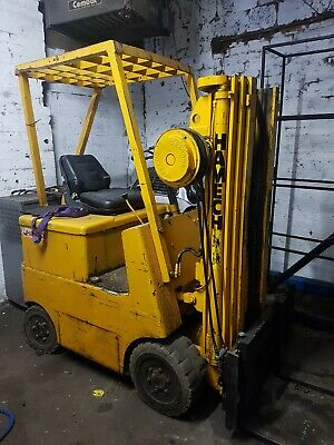 1.5 Tonne HYSTER ELECTRIC FORKLIFT,Container Spec,side Shift,No Faults
