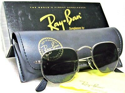 Ray-Ban USA NOS Vintage B&L Antique Collection Pewter W1287 NEWinBOX Sunglasses