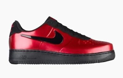 NIKE AIR FORCE 1 Foamposite Pro Cup Mens AJ3664-601 Gym Red Black ... 930f83836